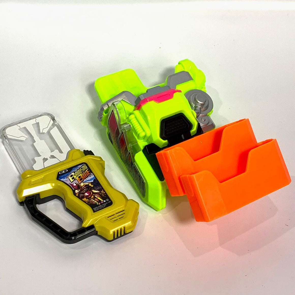 CSTOYS INTERNATIONAL:[LOOSE] Kamen Rider Ex-Aid: DX Kimewaza Slot Holder & Bakusou Bike Gashat Set