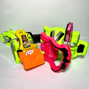 [LOOSE] Kamen Rider Ex-Aid: DX Gamer Driver & Kimewaza Slot Holder Set