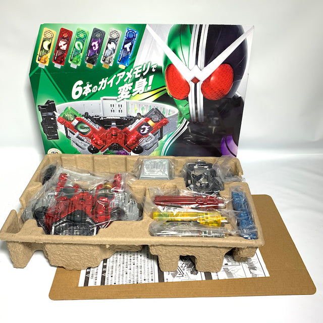 CSTOYS INTERNATIONAL:[BOXED] Kamen Rider W: Henshin Belt Ver. 20th: DX Double Driver