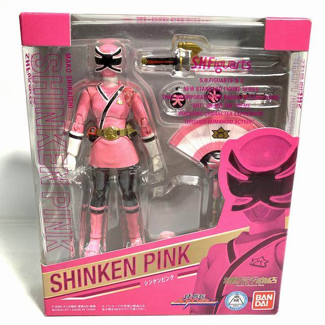 [BOXED & SEALED]  Shinkenger: S.H.Figuarts Shinken Pink