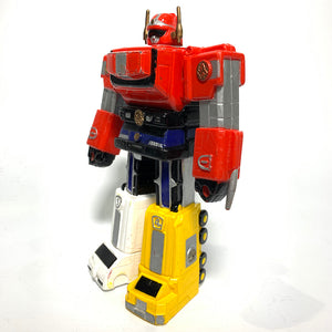 CSTOYS INTERNATIONAL:[LOOSE] GoGo Five: Victory Robo (Yutaka 1999 Vintage Soft Vinyl Figure)