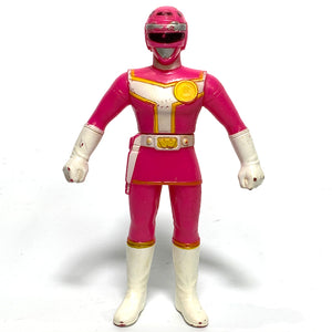 [LOOSE] Turboranger: 1989 Original Vintage Soft Vinyl Figure Set