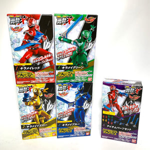 CSTOYS INTERNATIONAL:Mashin Sentai Kiramager: Candy Toy SG YU-DO X Action Figure Set (5 Box Set - Missing Kiramai Pink)
