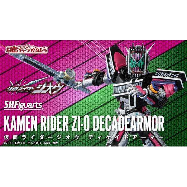 CSTOYS INTERNATIONAL:[Aug. 2019] Tamashii Web Exclusive - S.H.Figuarts Kamen Rider Zi-O Decade Armor (Mar. 10th - Mar. 27th)