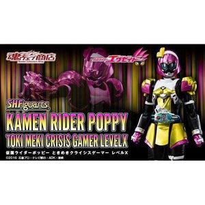 CSTOYS INTERNATIONAL:[CLOSED Mar. 2019] Premium Bandai Exclusive - S.H.Figuarts Kamen Rider Poppy Toki Meki Crisis Gamer Level X (Aug. 26th - Sep. 09th)