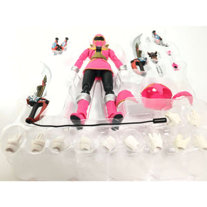 CSTOYS INTERNATIONAL:[BOXED] Gokaiger: S.H.Figuarts Gokai Pink Premium Bandai Exclusive with Gokai Darin