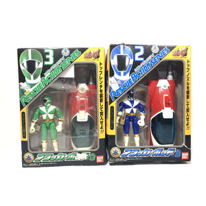CSTOYS INTERNATIONAL:[BOXED] Kyuukyuu Sentai GoGo V: Rescue Action Series Green & Blue Attack Pod (Missing Parts)