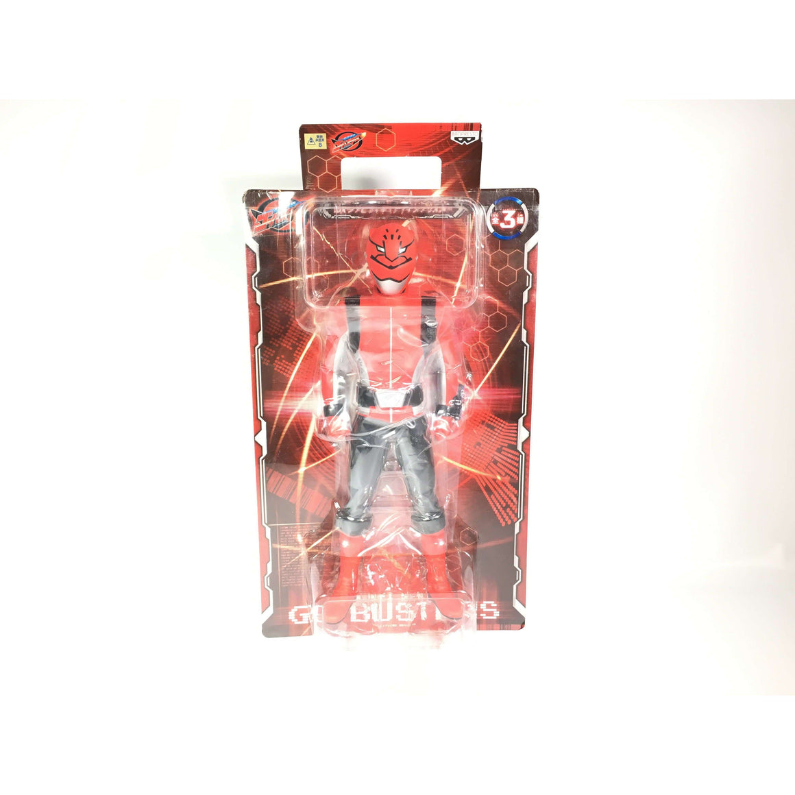 CSTOYS INTERNATIONAL:[BOXED] Tokumei Sentai Go-Busters: Large Red Buster Vinyl Figure