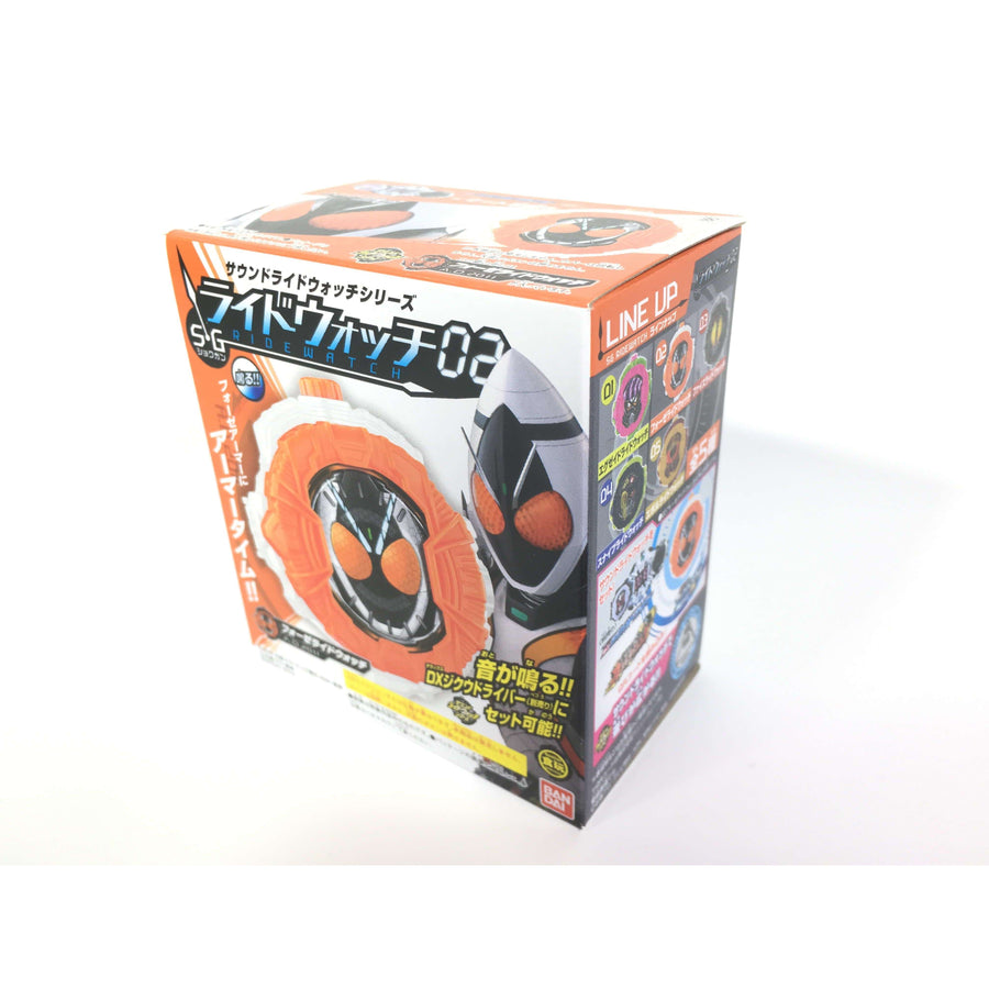 CSTOYS INTERNATIONAL:Candy Toy Kamen Rider Zi-O: SG Sound Ride Watch 02 - 02. Fourze Ride Watch