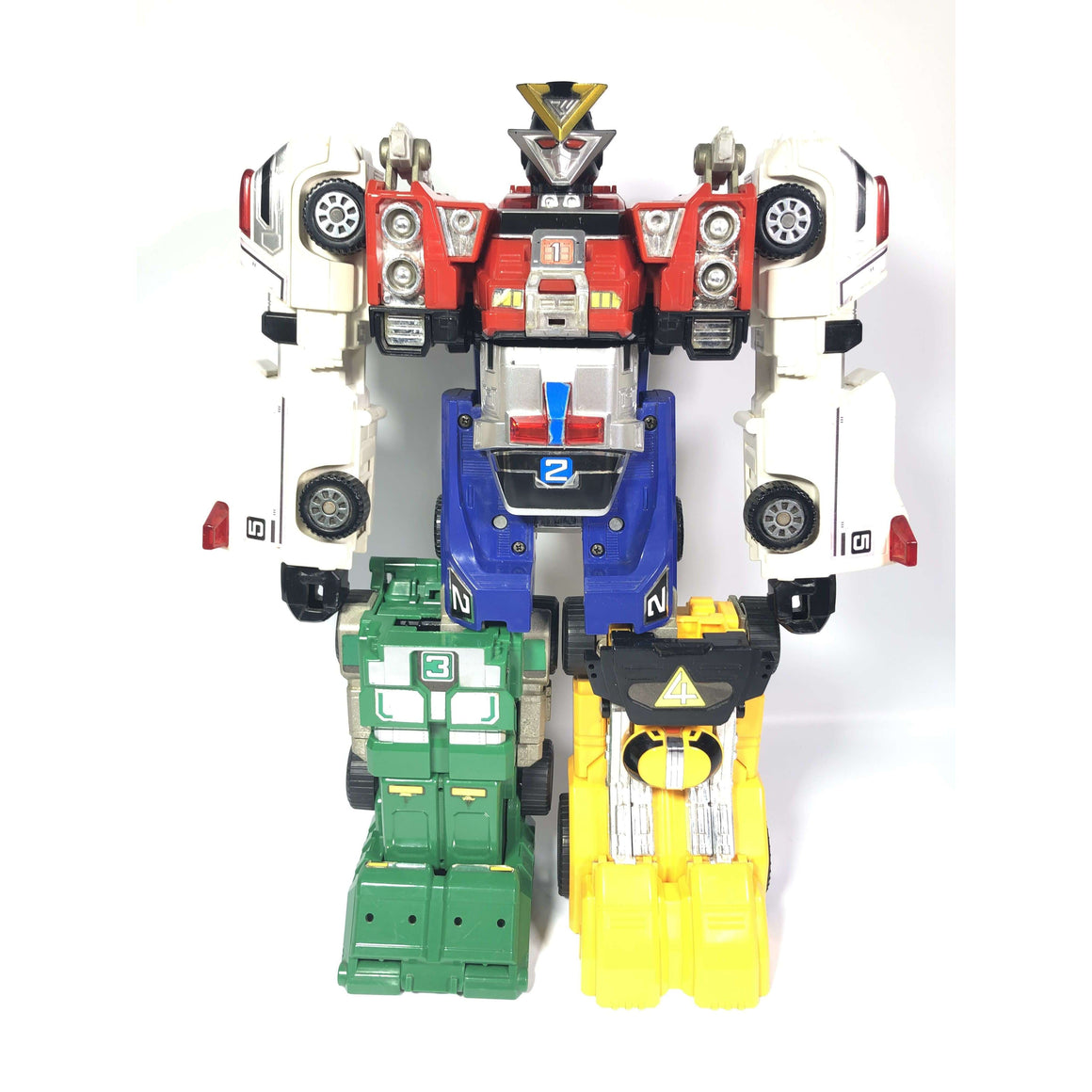 CSTOYS INTERNATIONAL:[LOOSE] Gekisou Sentai Carranger: DX VRV Robo (Missing Parts)