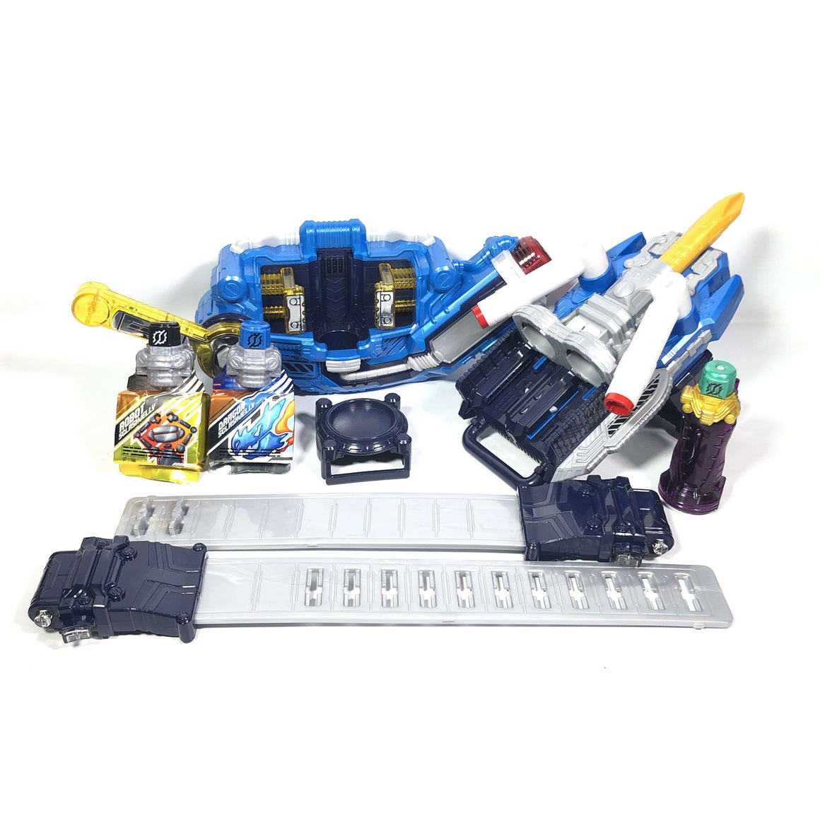 CSTOYS INTERNATIONAL:[LOOSE] Kamen Rider Build: DX Sclash Driver, Twin Breaker Special Set with DX Crocodile Crack Fullbottle