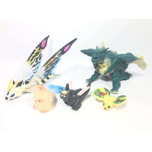 CSTOYS INTERNATIONAL:[BOXED] Mothra 2: Five Monster Figure Set