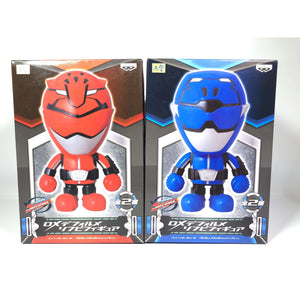 CSTOYS INTERNATIONAL:[BOXED] Tokumei Sentai Go-Busters: DX Deforme Sofubi Figure - Red and Blue Buster