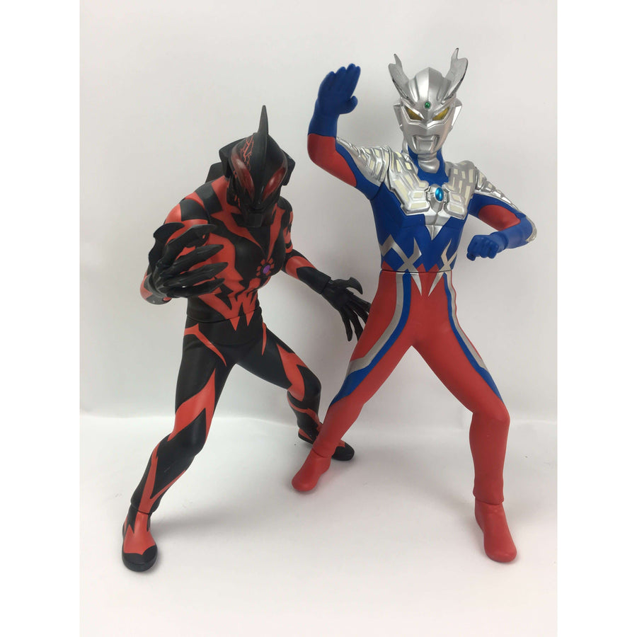 CSTOYS INTERNATIONAL:[LOOSE] Ultraman Zero & Ultraman Belial Vinyl Figure Set