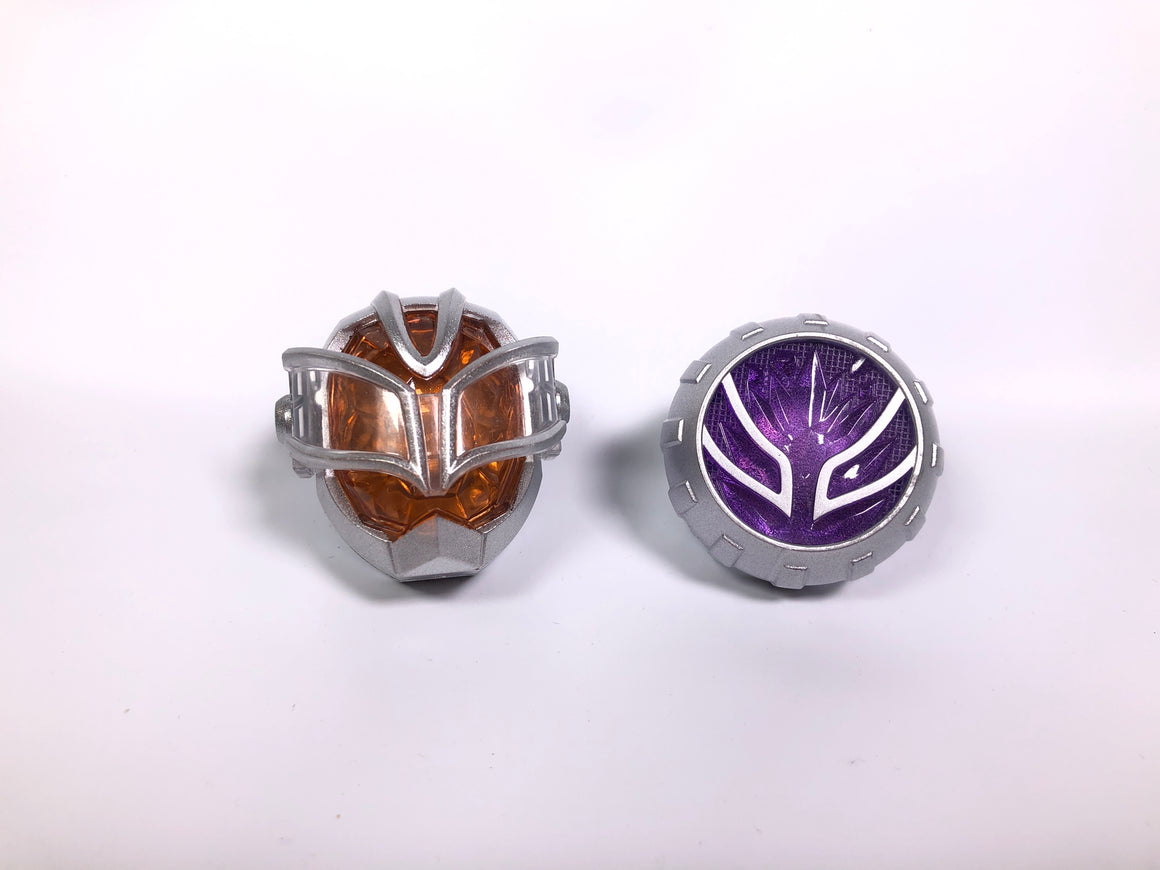 CSTOYS INTERNATIONAL:[LOOSE] Kamen Rider Wizard: DX Shiroi Mahoutsukai Wizard Ring Set