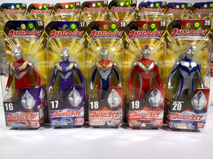 CSTOYS INTERNATIONAL:Ultraman: UHS 01-40 & 2EX Vinyl Figure Complete Set