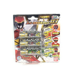 CSTOYS INTERNATIONAL:[BOXED] Legend Sentai Series: Super Sentai Zyudenchi Set 03