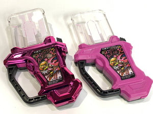 CSTOYS INTERNATIONAL:[LOOSE] Kamen Rider Ex-Aid: Capsule Toy Gashat Set with Normal & Metallic Color Ver.: Mighty Action X