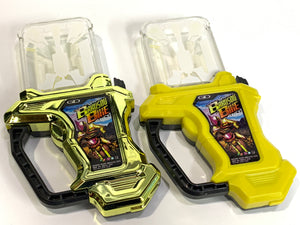 CSTOYS INTERNATIONAL:[LOOSE] Kamen Rider Ex-Aid: Capsule Toy Gashat Set with Normal & Metallic Color Ver.: Bakusou Bike