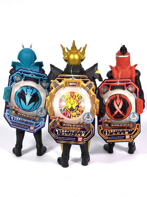 CSTOYS INTERNATIONAL:Kamen Rider Ghost: RHS 02+04+07 Vinyl Figure Set (Musashi+Tutankhamen+Grateful Vinyl Figure Set)