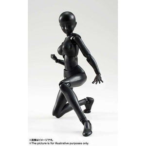 CSTOYS INTERNATIONAL:S.H.Figuarts Body-chan (Solid Black Color Ver.)