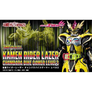 CSTOYS INTERNATIONAL:[Jul. 2019] Tamashii Web Exclusive - S.H.Figuarts Kamen Rider Lazer Chambara Bike Gamer Level 3 (Mar. 10th - Mar. 27th)