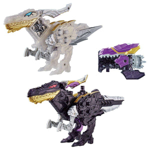 [LOOSE] Ryusoulger: DX Shine Raptor & Shadow Raptor Set (No Cosmo Ryusoul Included)