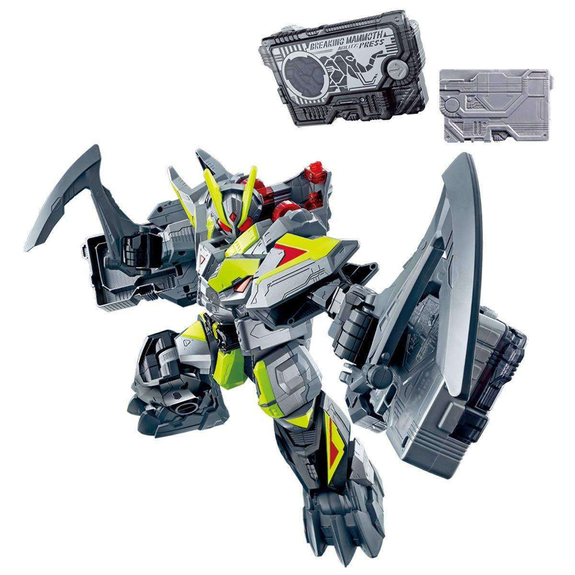 CSTOYS INTERNATIONAL:[BOXED] Kamen Rider 01: DX Breaking Mammoth & Breaking Mammoth Progrise Key