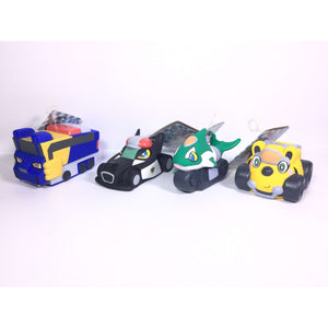 CSTOYS INTERNATIONAL:[LOOSE] Engine Sentai Go-Onger: Engine Vinyl Figures 2-5