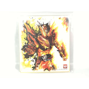 CSTOYS INTERNATIONAL:[LOOSE] Kamen Rider Shikishi Art - Kamen Rider Cross-Z Magma
