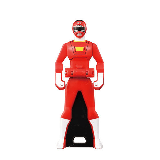 CSTOYS INTERNATIONAL:[LOOSE] Ranger Key: 1996 Carranger: Red Racer