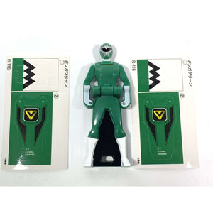 CSTOYS INTERNATIONAL:[LOOSE] Ranger Key: 1998 Gingaman: Ginga Green