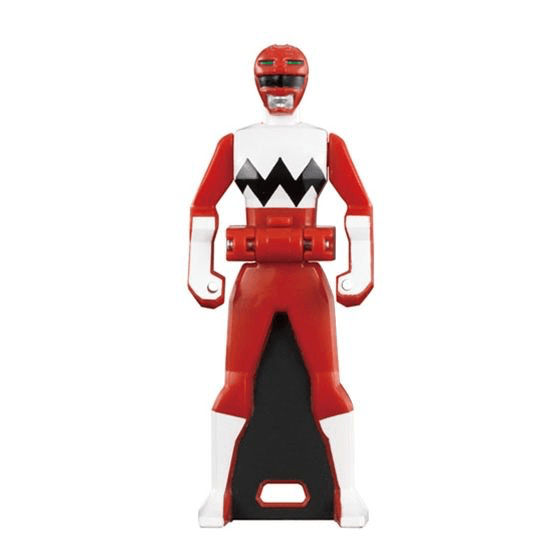 CSTOYS INTERNATIONAL:[LOOSE] Ranger Key: 1998 Gingaman: Ginga Red