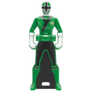 CSTOYS INTERNATIONAL:[LOOSE] Ranger Key: 2009 Shinkenger Shinken Green