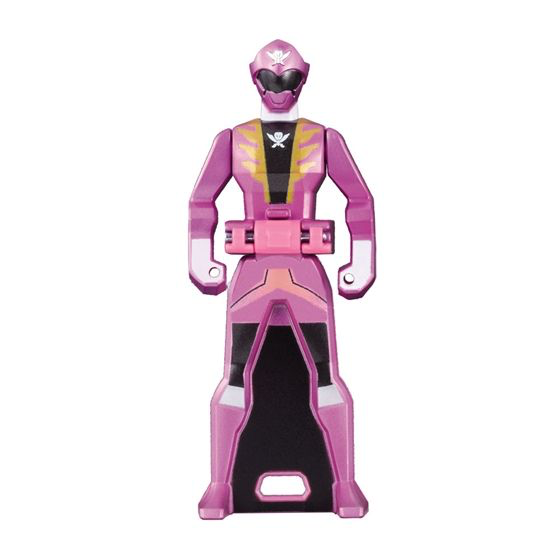 CSTOYS INTERNATIONAL:[LOOSE] Ranger Key: 2011 Gokaiger: Gokai Pink (Metalic Color Ver.)