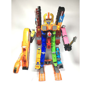 CSTOYS INTERNATIONAL:[LOOSE] Ressha Sentai ToQger: DX Chou Chou ToQ Dai-Oh Set
