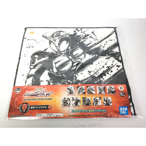CSTOYS INTERNATIONAL:[NEW & SEALED] Kamen Rider Kabuto: Ichiban-Kuji Kabuto Hand Towel  (Approx. Size 10 X 10 in.)