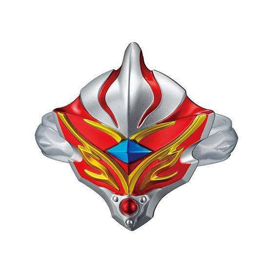 CSTOYS INTERNATIONAL:Ultraman Taiga: Capsule Toy Exclusive GP Ultra Taiga Accessory 03 - 03. Ultraman Mebius (Burning Brave) Let