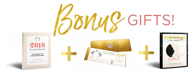 3 Bonus Gifts when you order by December 1!