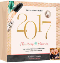 The AstroTwins' 2017 Planetary Planner