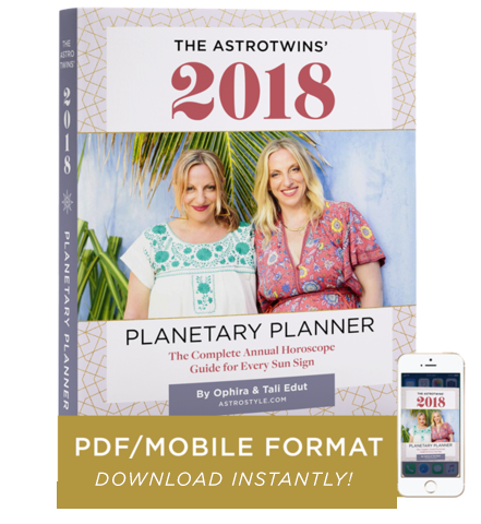 2018 Planetary Planner: The Complete Annual Horoscope Guide for Every Sun Sign (PDF/Digital eBook)