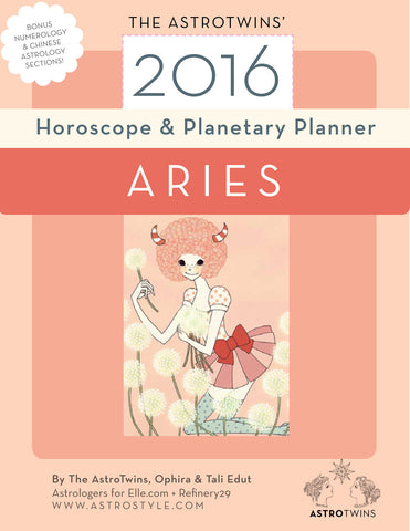 Aries 2016 Horoscope & Planetary Planner (PDF version)