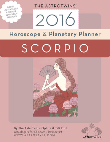 Scorpio 2016 Horoscope & Planetary Planner (PDF version)