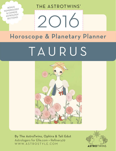 Taurus 2016 Horoscope & Planetary Planner (PDF version)
