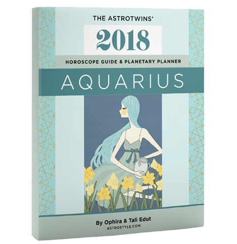 Book+Bonus Gifts: Aquarius 2018 Horoscope Guide & Planetary Planner (Paperback)