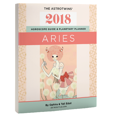 Book+Bonus Gifts: Aries 2018 Horoscope Guide & Planetary Planner (Paperback)