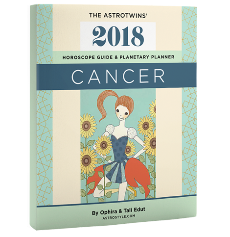 Book+Bonus Gifts: Cancer 2018 Horoscope & Planetary Planner (Paperback)