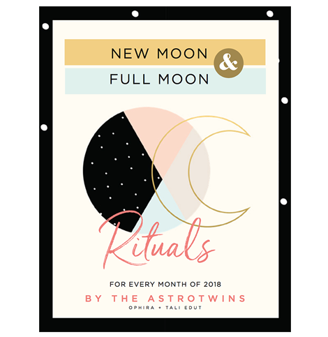 2018 New Moon & Full Moon Rituals (PDF/Digital)