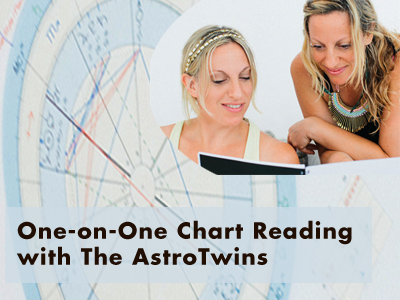 One-on-One Chart Reading with The AstroTwins