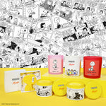 Peanuts x Flamingo Candles Root Beer Yellow Snoopy Scent Shape